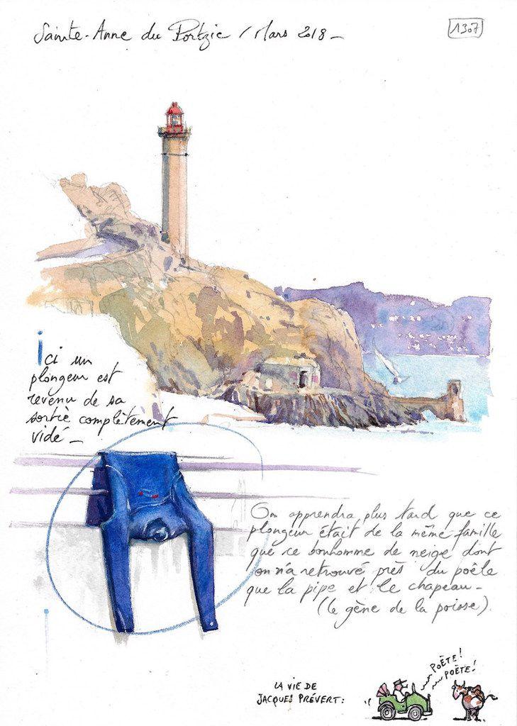 Une Bretagne par les contours / Ste-Anne du Portzic
