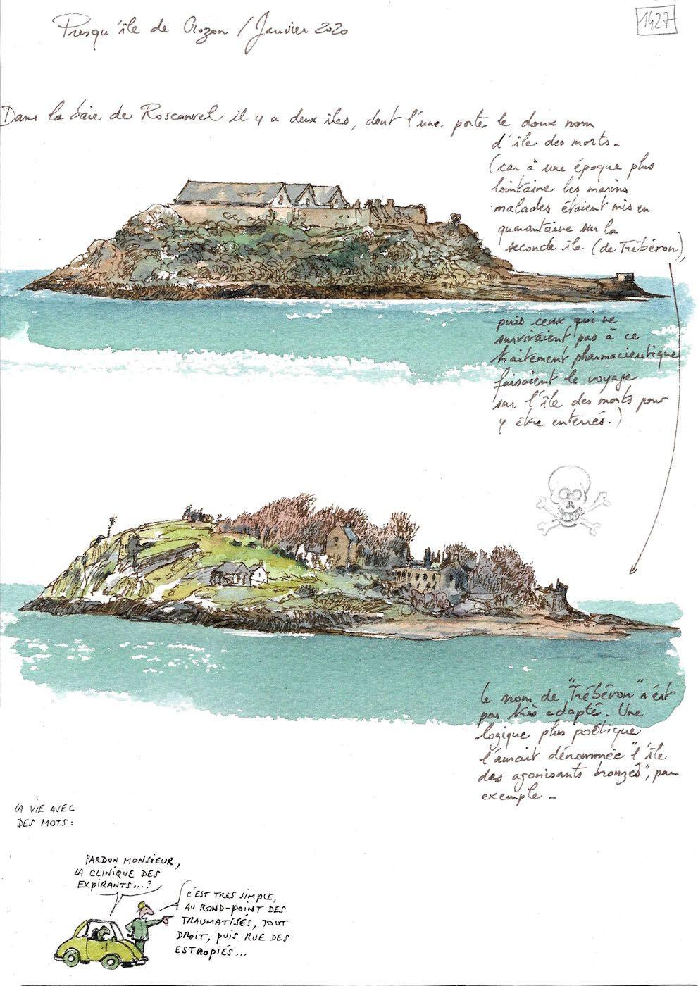Une Bretagne par les contours / Presqu'île de Crozon