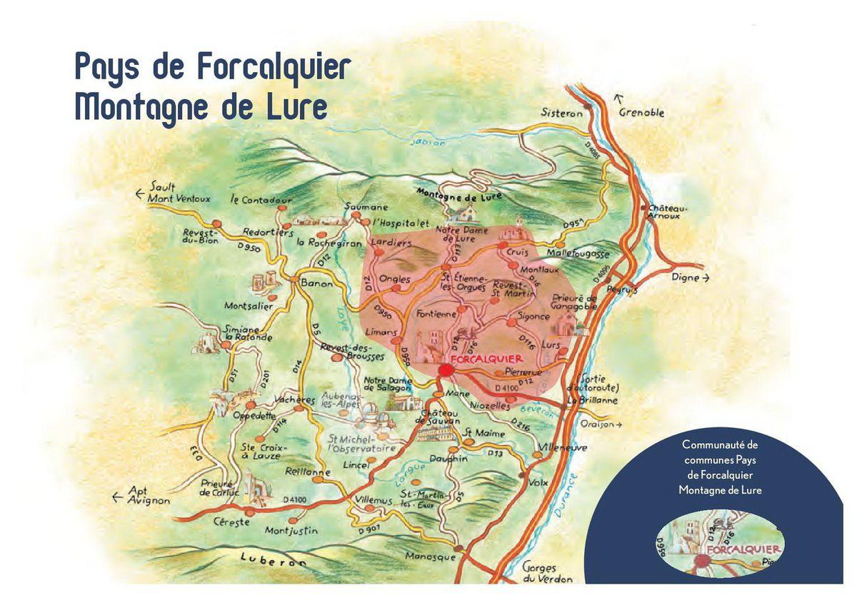 La ronde des cr ches 2017 en haute provence le blog des omergues - Office du tourisme forcalquier ...