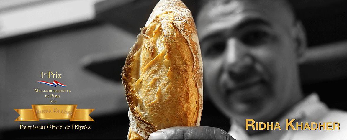 La baguette de la République, celle de Ridha Khader, Paris 14e