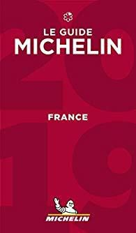 La couverture du Guide Michelin France 2019