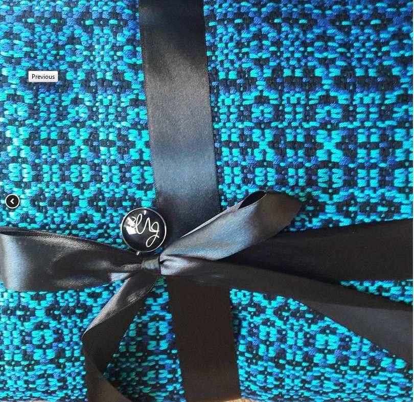 "Mon écharpe ""custom"" Flévoria."