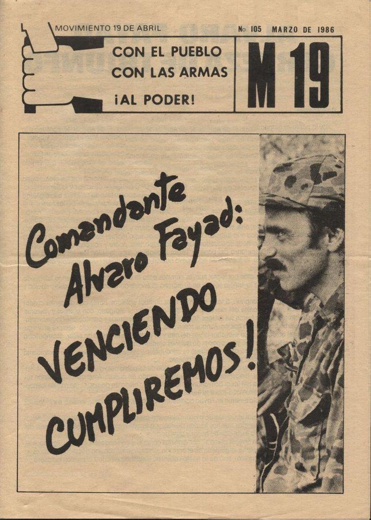 Comandante Álvaro Fayad: Certeza de triunfo