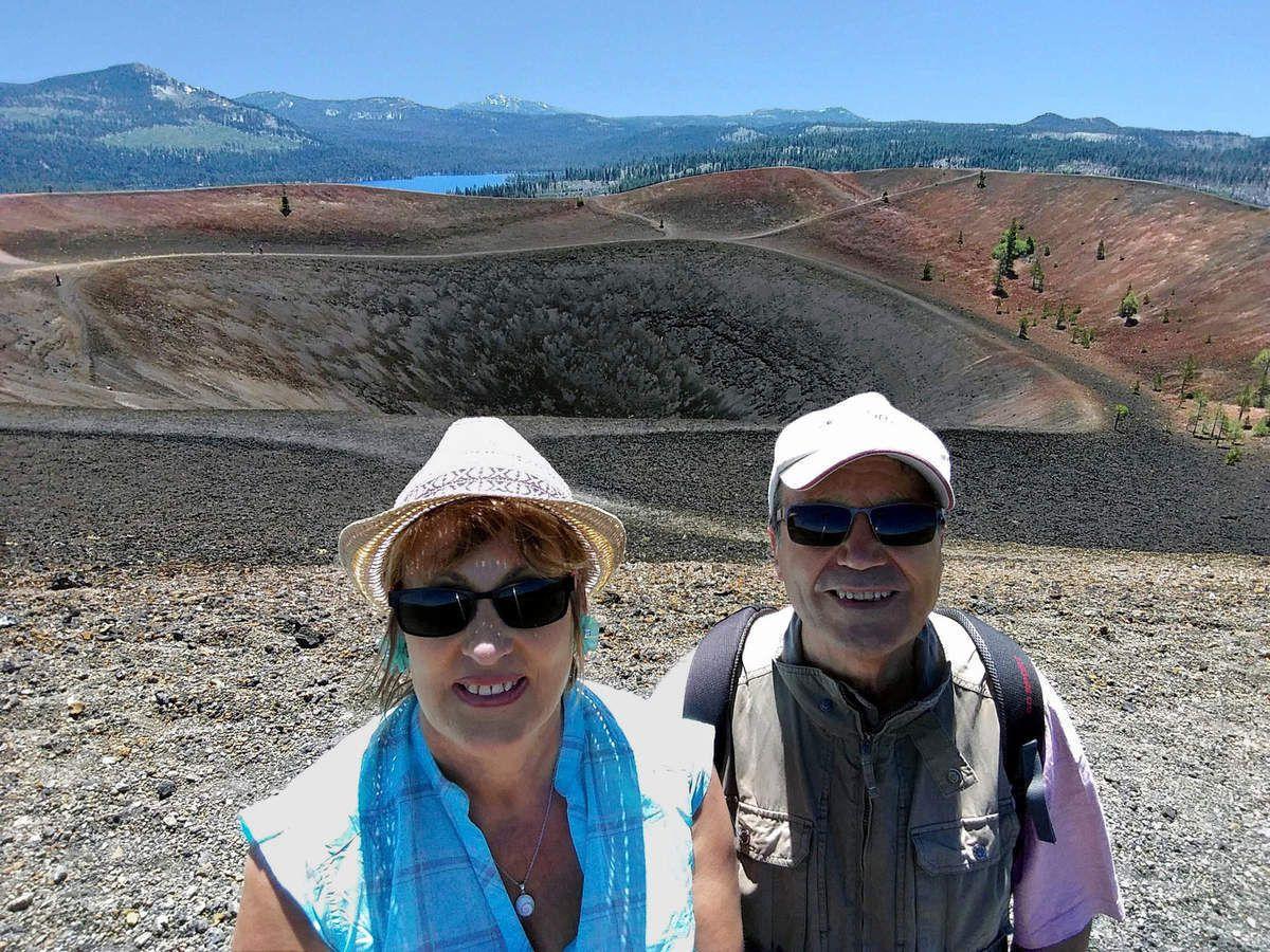 Lassen Volcanic Cinder Cone
