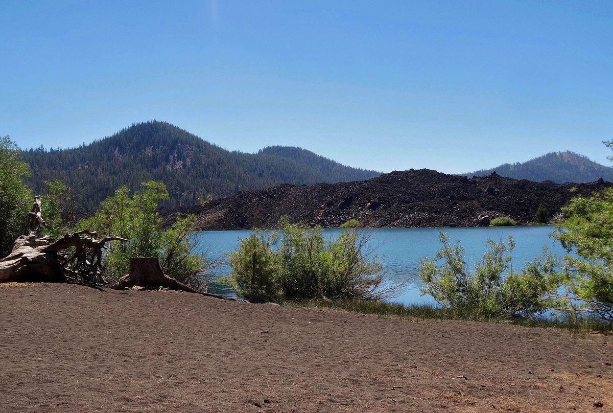 Lassen Volcanic Butte Lake