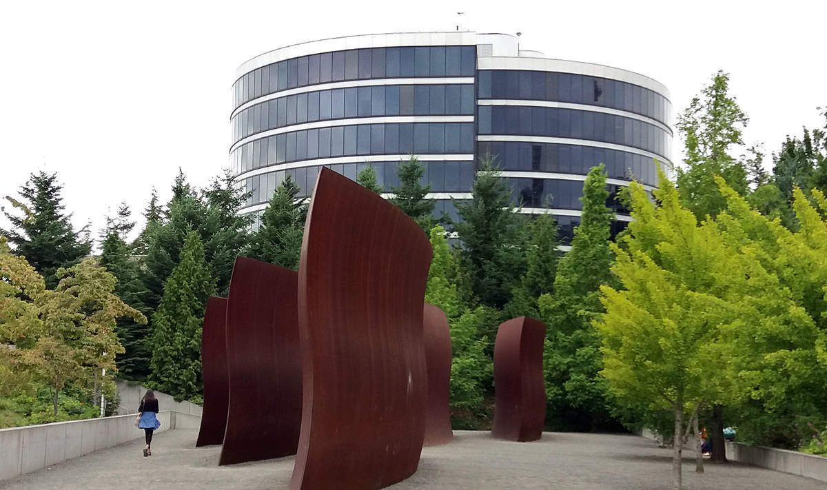 """Seattle Olympic Sculpture park """"Wake"""""""