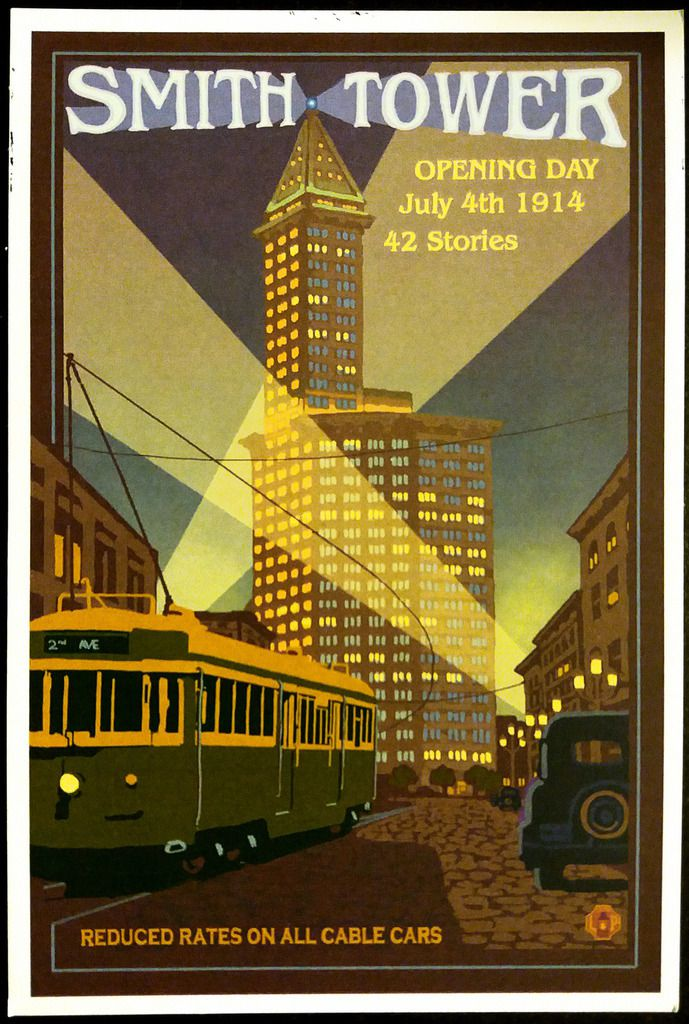 Seattle Smith Tower ticket