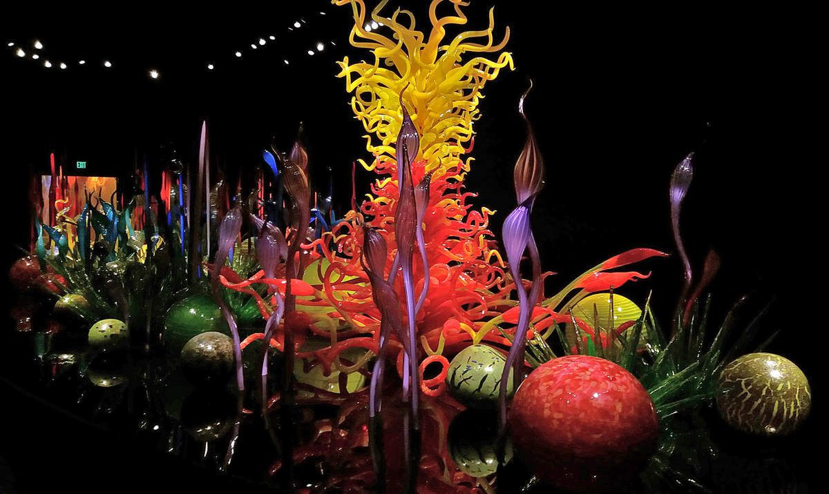 Seattle Chihuly Garden and Glass Mille Fiori