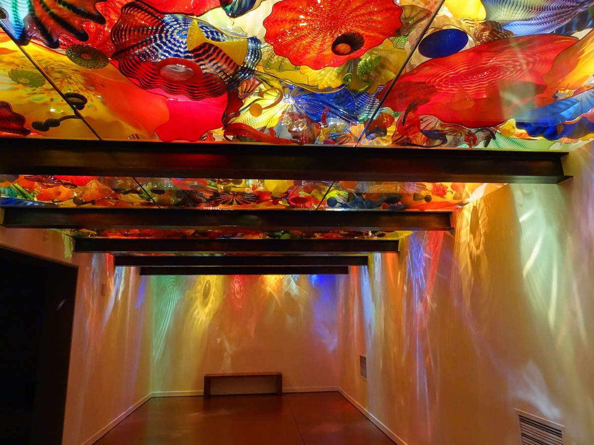 Seattle Chihuly Garden and Glass Persian Ceiling