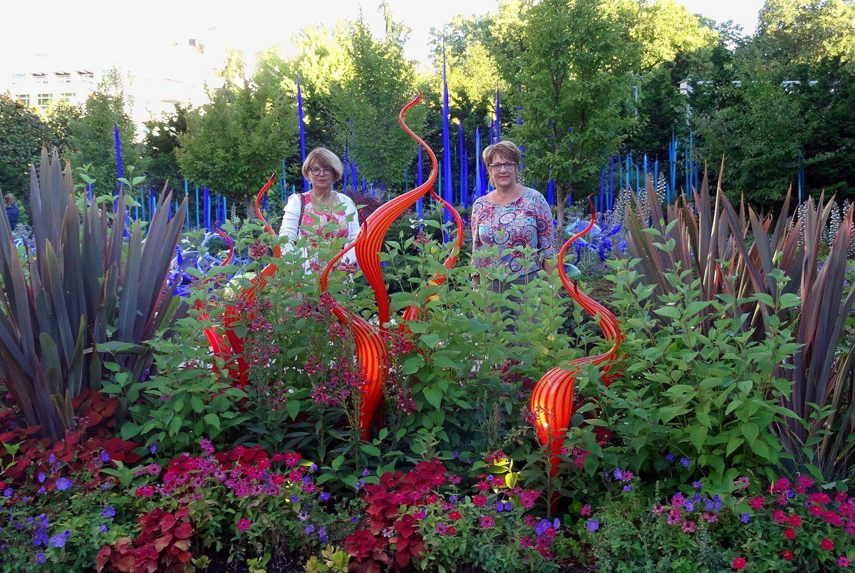 Seattle Chihuly Garden and Glass jardin
