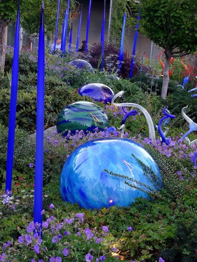 Chihuly Garden and Glass jardin
