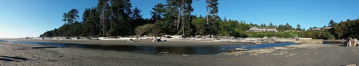 Olympic National Park Kalaloch Lodge panoramique