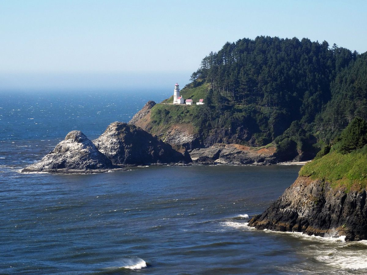 Oregon Coast Heceta Head Lighthouse
