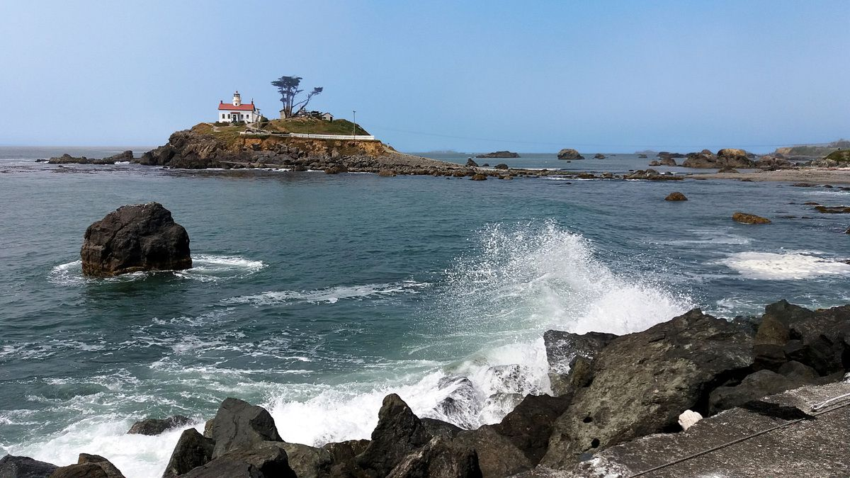 Crescent City Battery Point Lighthouse