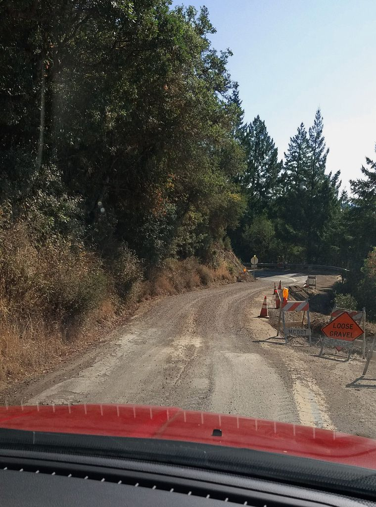 Mountain View road travaux