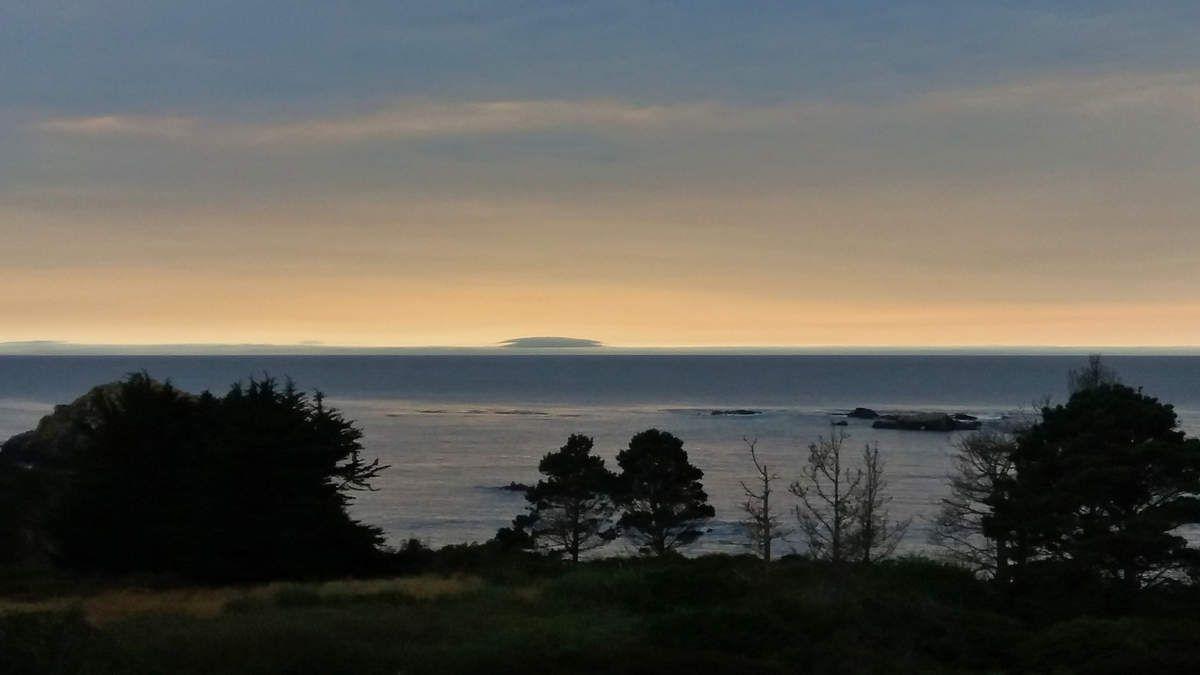 Mendocino coucher du soleil