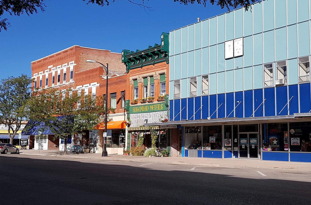 Cheyenne downtown