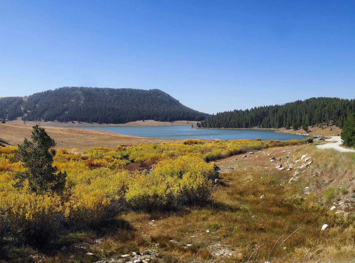 Cloud Peak Skyway Scenic Byway Meadowlark lake