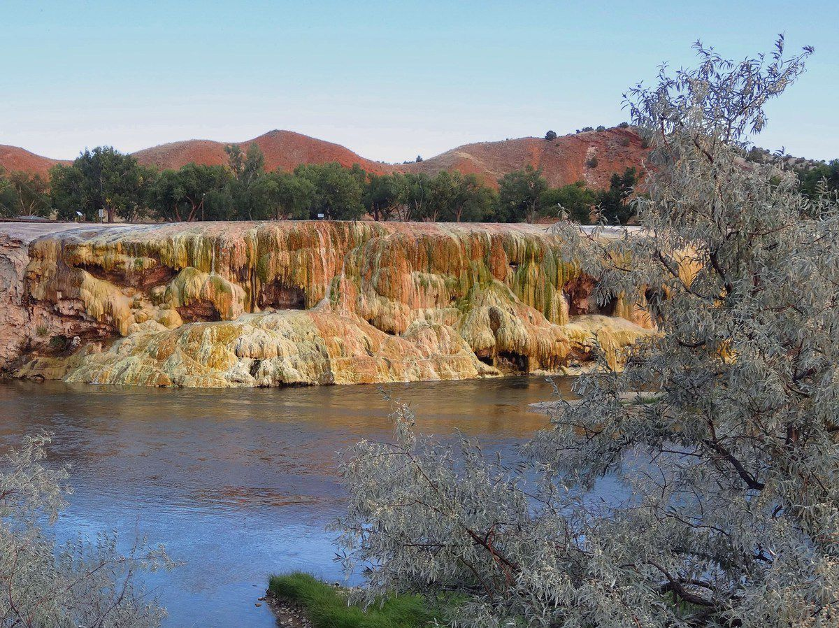 Thermopolis Hot Springs State Park Rainbow Terraces
