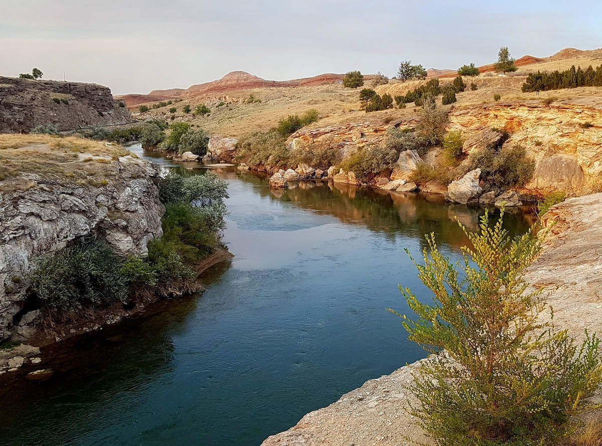 Thermopolis Hot Springs State Park Bighorn River