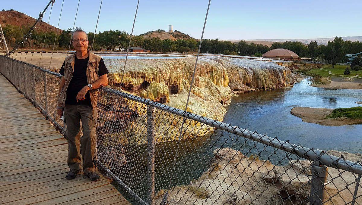 Thermopolis Hot Springs State Park Swinging Bridge