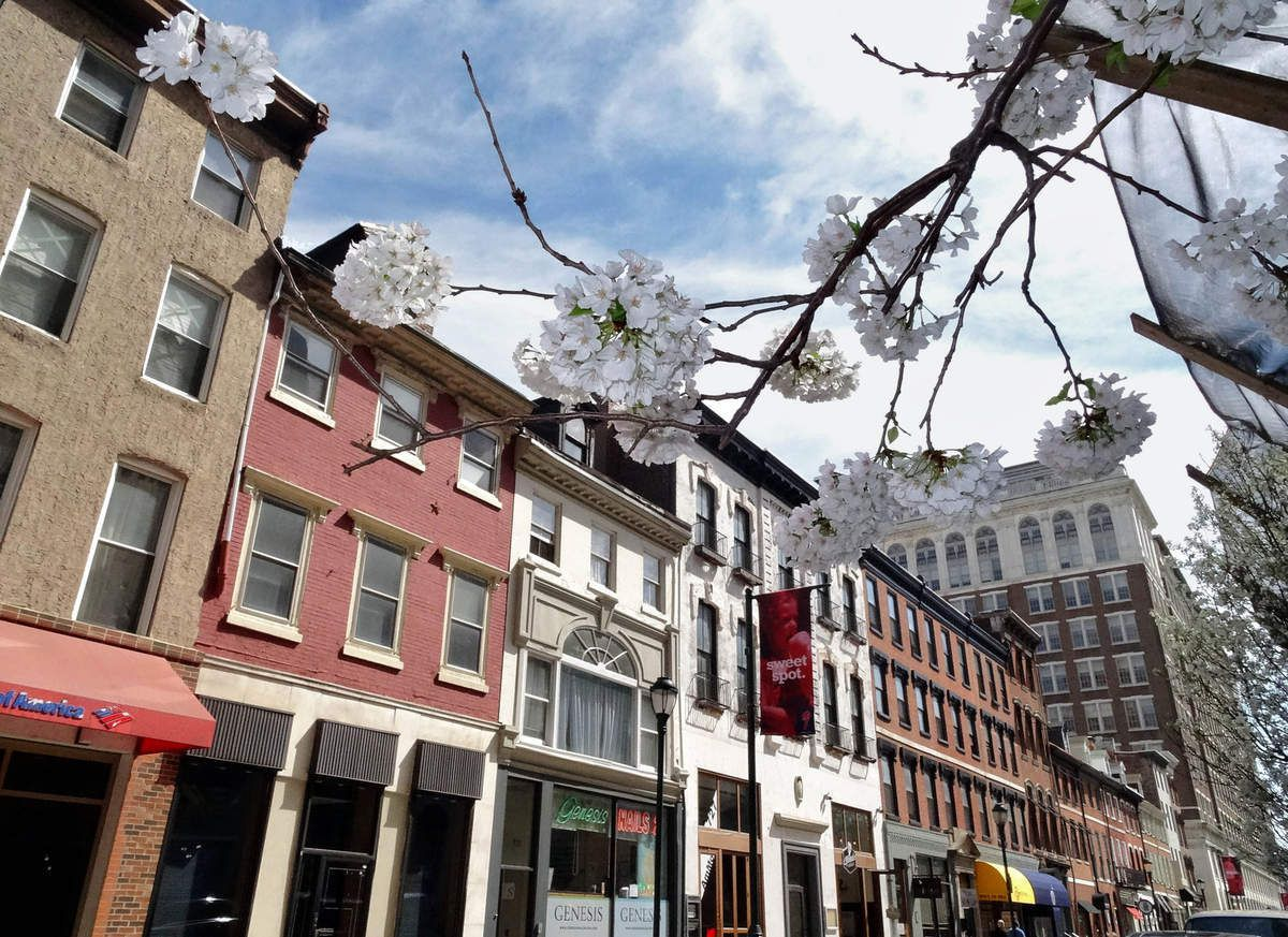 Philadelphie Locust street