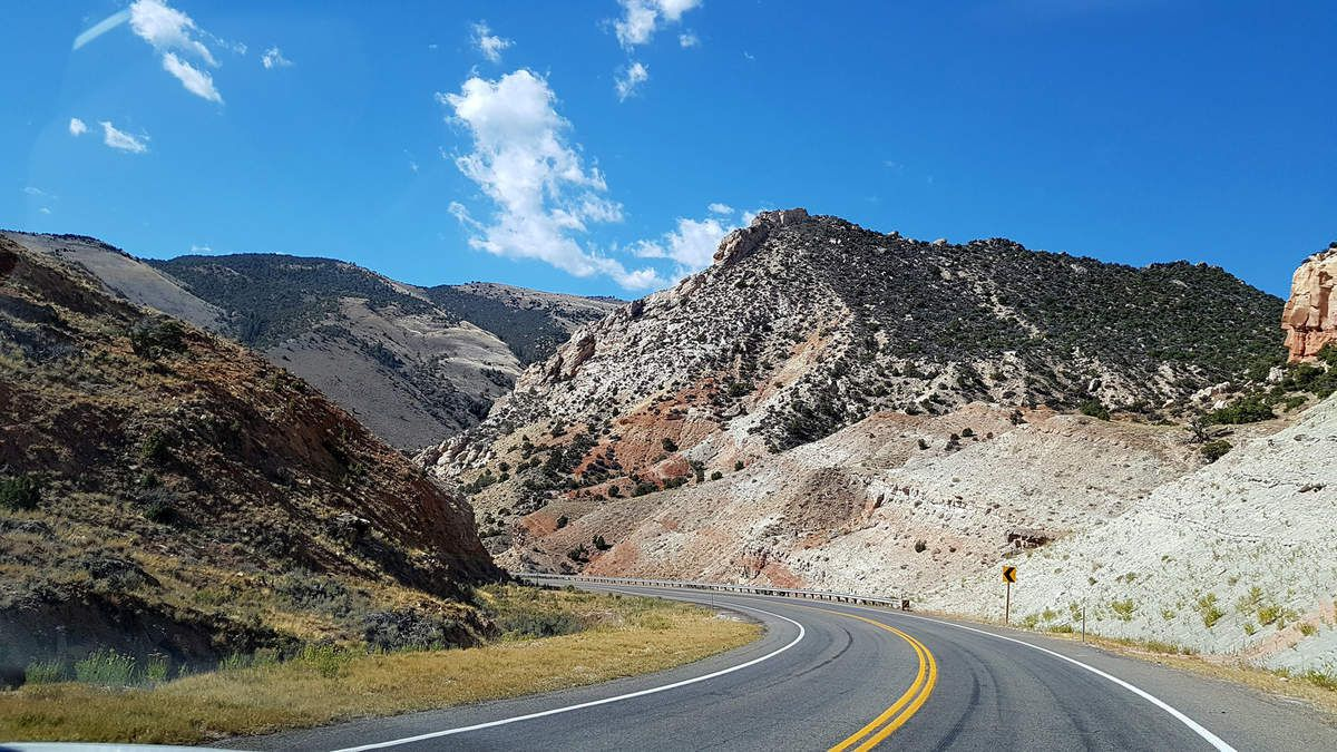 Flaming Gorge route 530