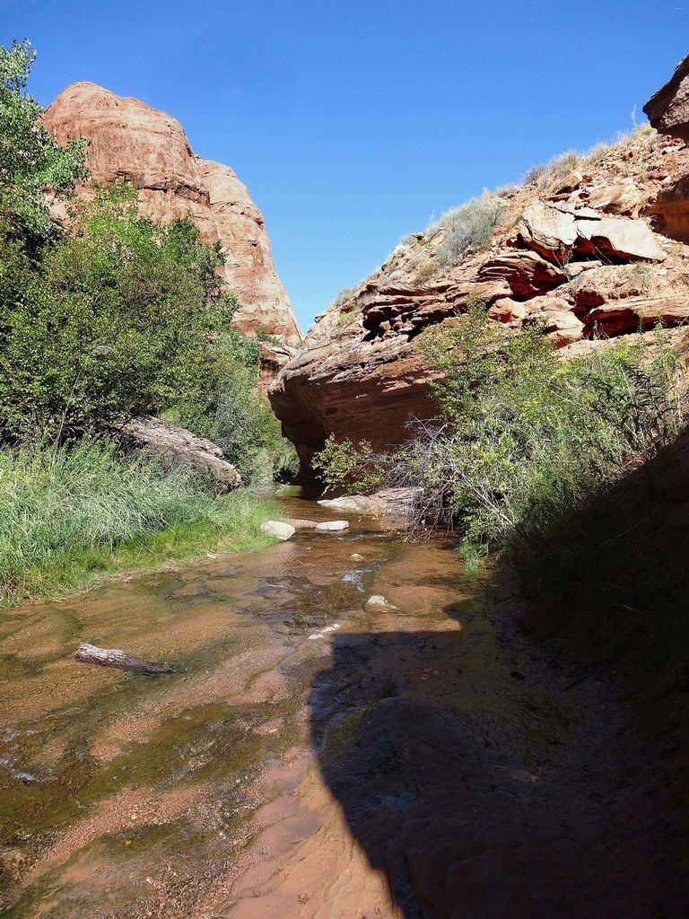 Grandstaff Canyon trail