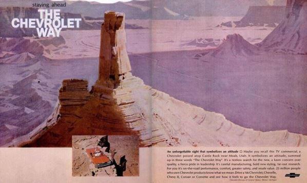 Pub Chevrolet sur Castleton Moab
