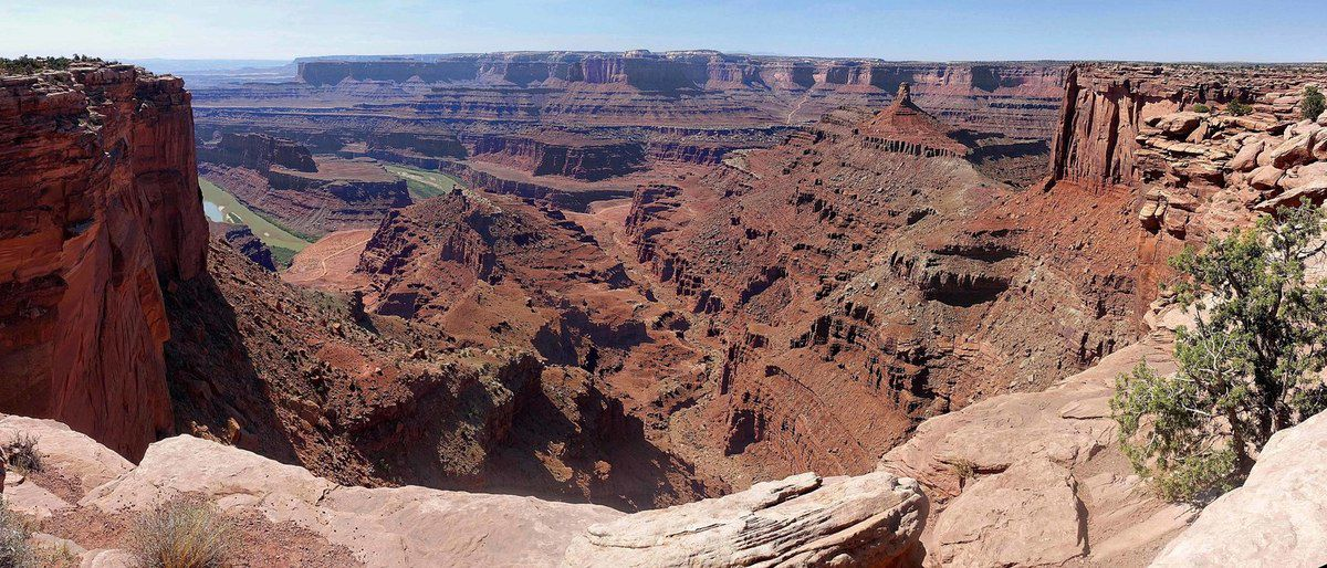 Dead Horse Point Meander overlook
