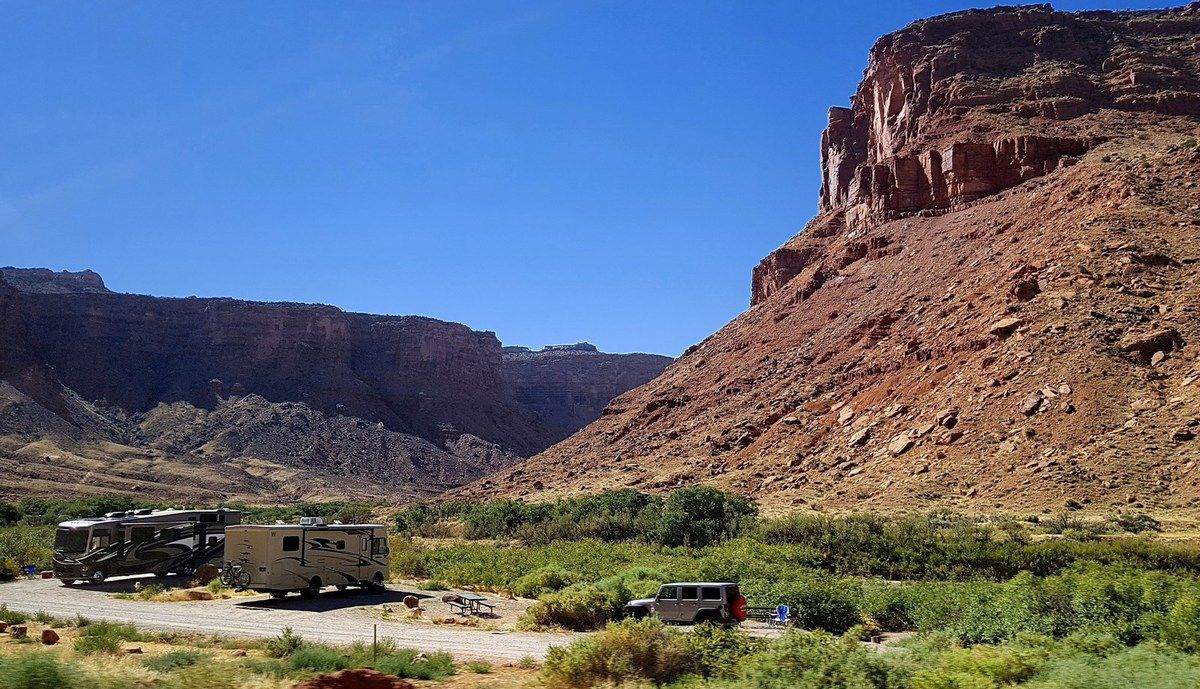 Scenic Byway 128 camping