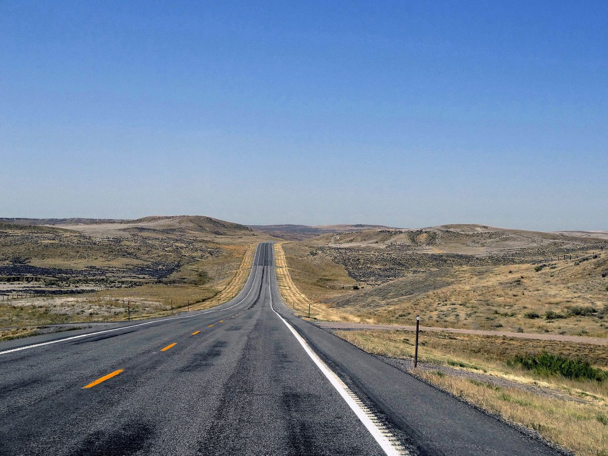 Route vers Gooseberry Badlands WY-431