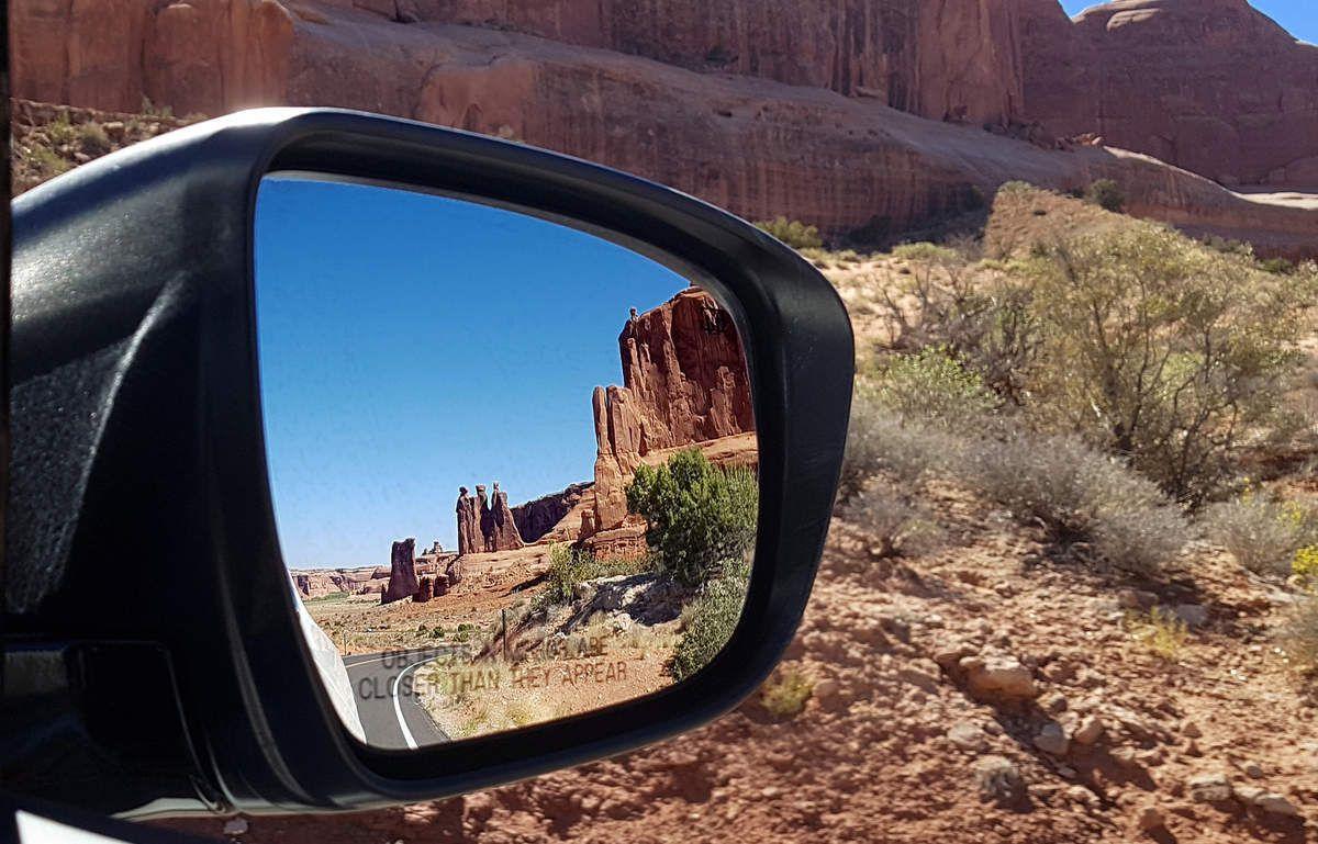 Arches Park scenic road