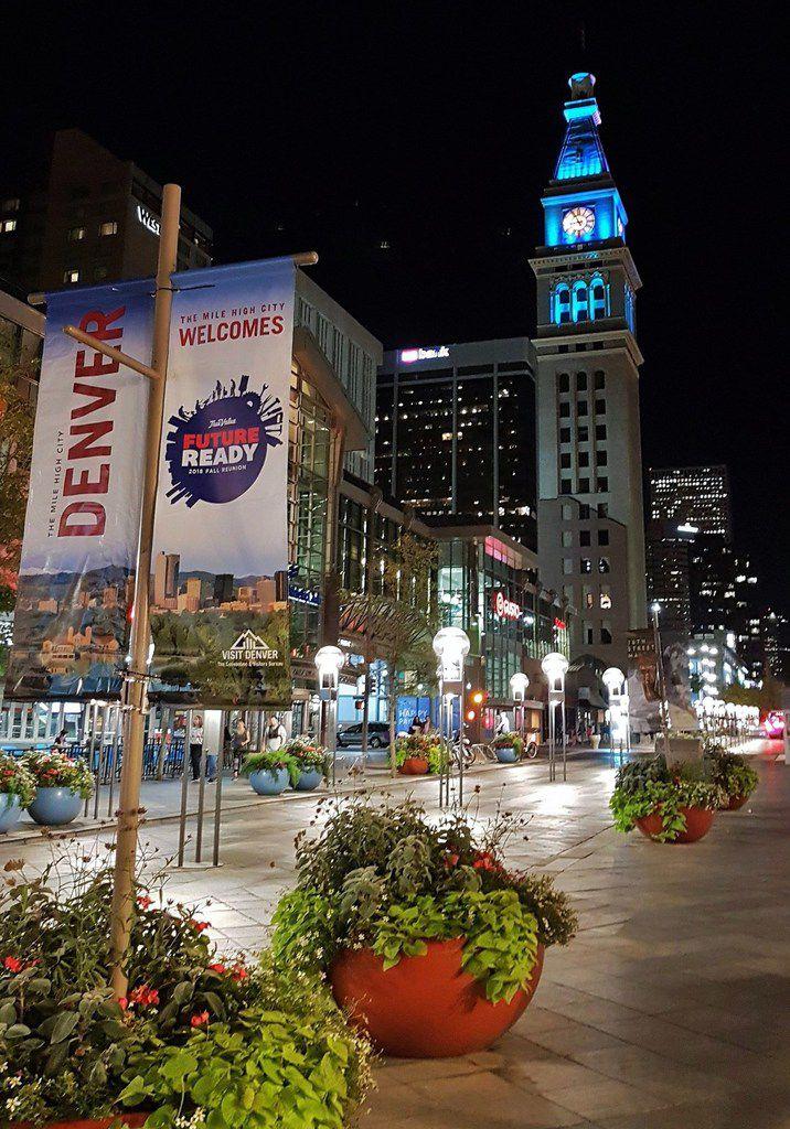Denver by night