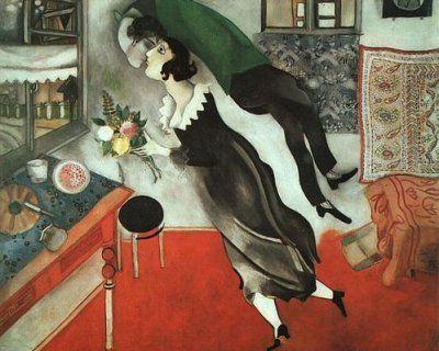 L'anniversaire, Marc Chagall, 1915