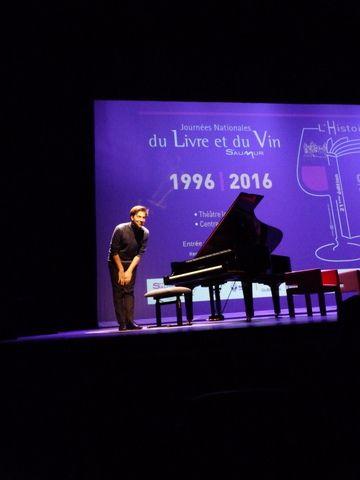 Journées Nationales du Livre et du Vin 2016, à Saumur : table ronde (3), L'Histoire dans le cinéma.