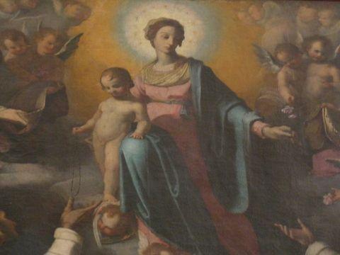 La Vierge du Rosaire, Paladini.