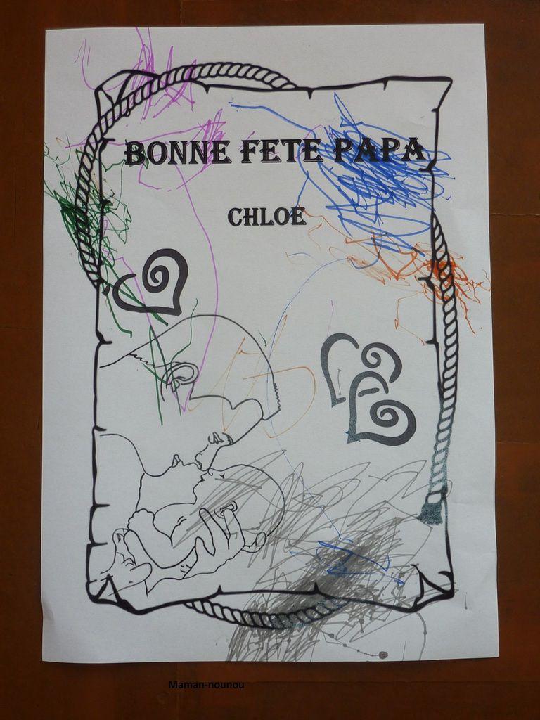 Coloriage Kermesse Ecole.Coloriage Fete Des Peres Le Blog De Maman Nounou