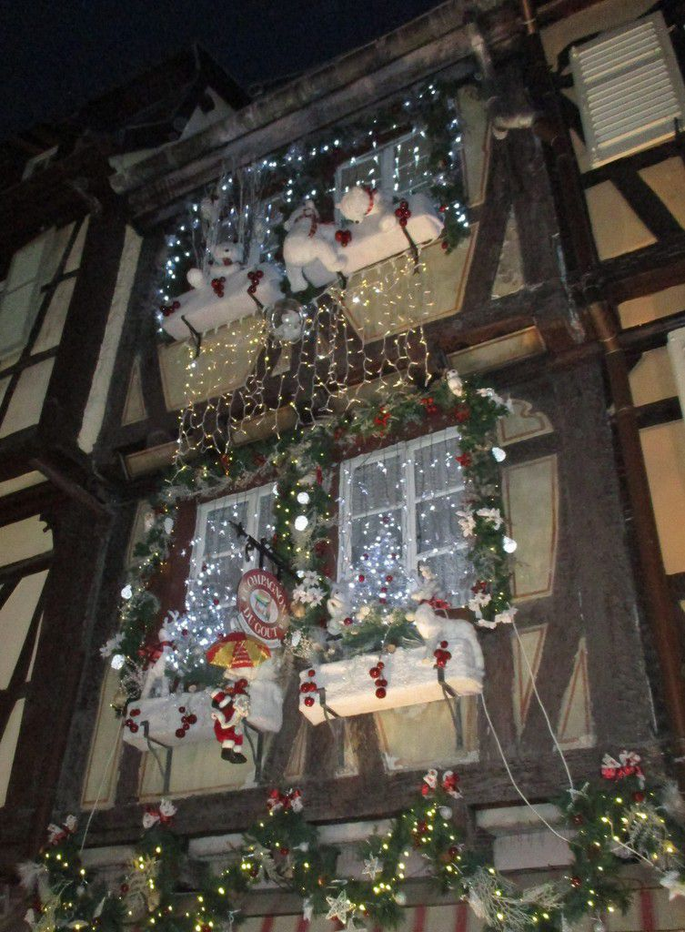 Joyeux Noël au marché de Noël à Colmar !