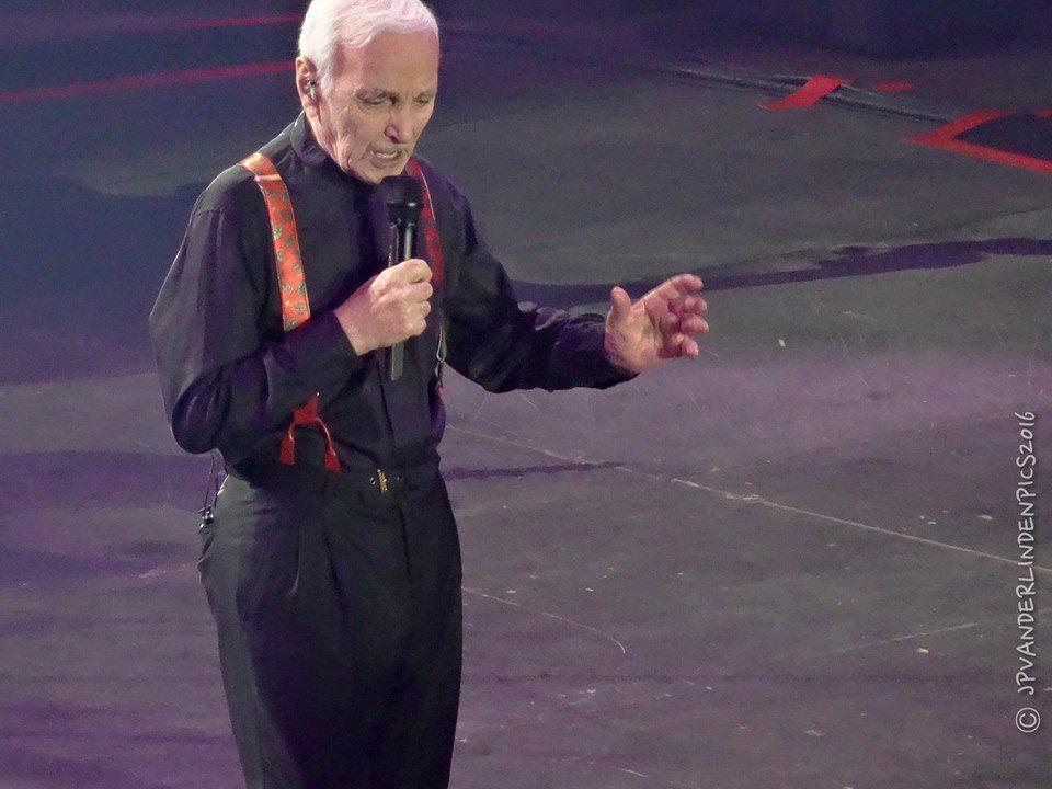Charles Aznavour 2016. Lotto Arena. Antwerpen, le 4 décembre 2016
