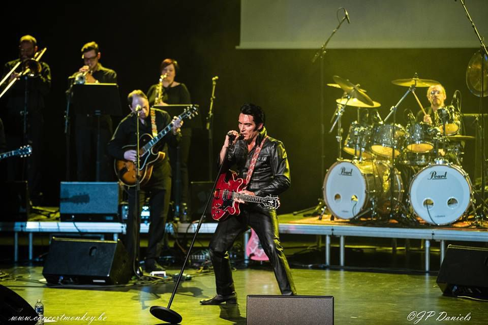 One Night of Elvis - Lee Memphis King - cultuurzaal Oud Gasthuis - Asse, le 17 mars 2017