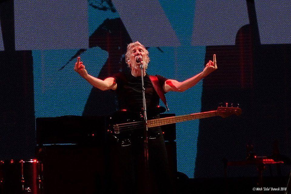 Roger Waters au Sportpaleis- Antwerpen, le 11 mai 2018