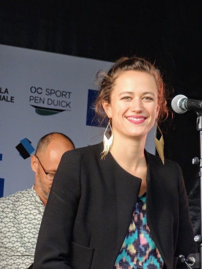 Mata Hari lors de La Solitaire Urgo/Le Figaro au port du Légué à Saint-Brieuc, le 30 août 2018