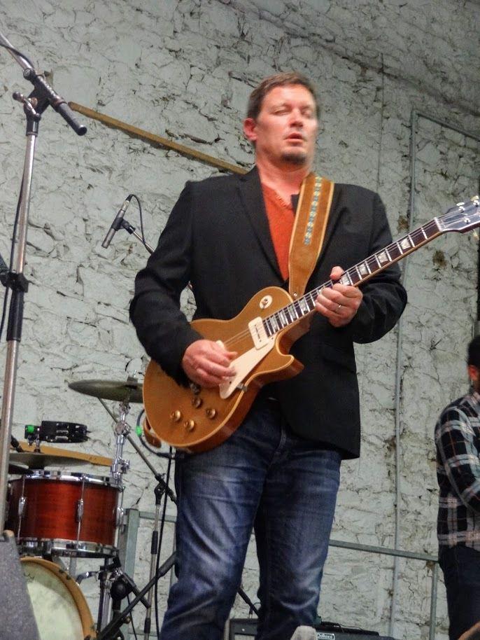 Festival Blues des Deux Rivières ( scène off) avec The Beanshakers et Trio Iku à Belle-Isle-en-Terre, le 6 octobre 2018