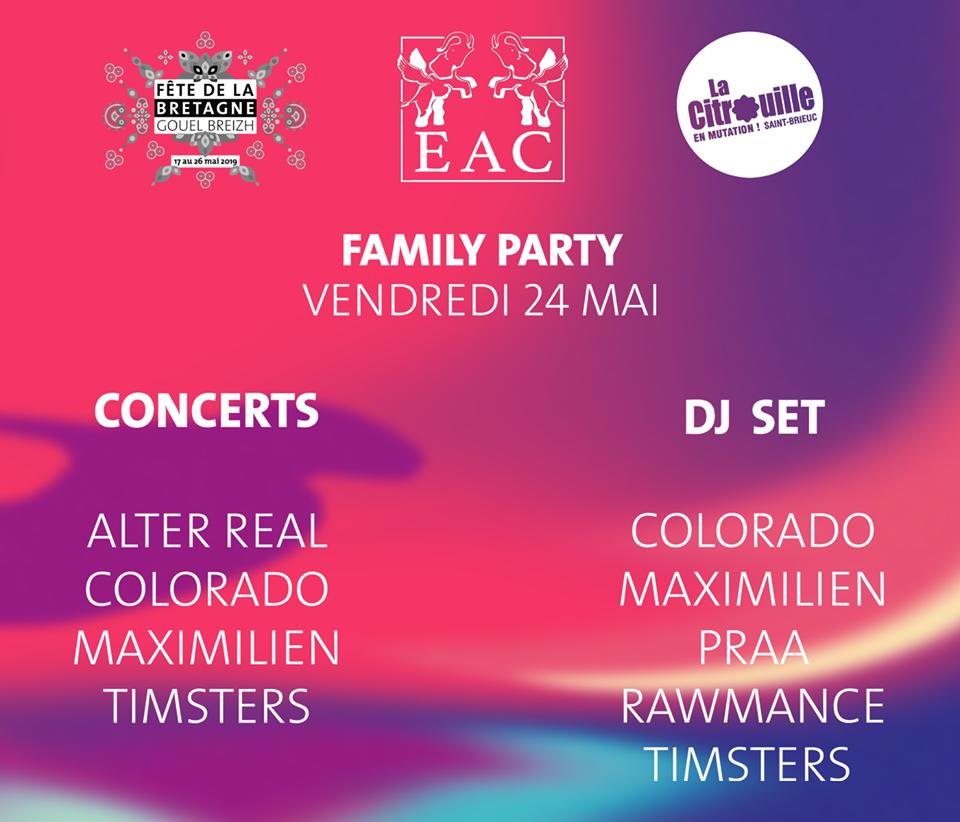 Alter Real/Timsters/Maximilien/Colorado à La Citrouille de Saint-Brieuc le 24 mai 2019