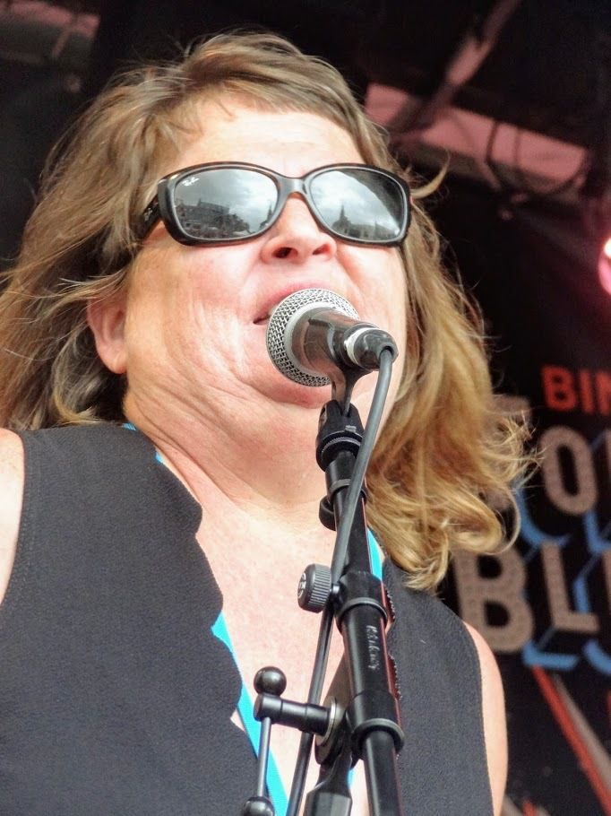 Margaret Airplaneman au Binic Folks Blues Festival, Scène Cloche, Binic, le 26 juillet 2019