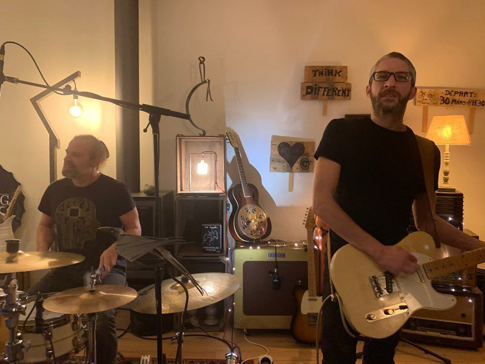 The Banging Souls - Rock'n Beers Home Sessions n°4 et 5- Sart-Saint-Laurent, le 12 octobre 2019