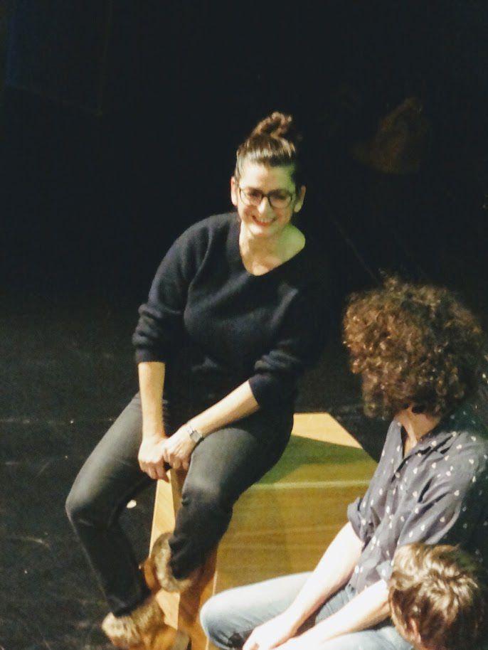Dévaste-moi - Emmanuelle Laborit / Johanny Bert / The Delano Orchestra à La Passerelle, Saint -Brieuc, le 18 janvier 2020