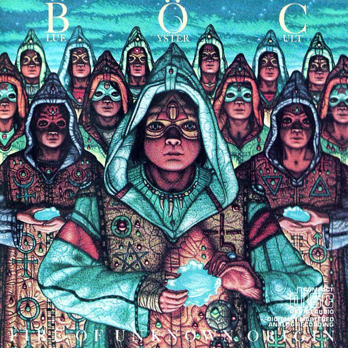 BACK TO BEFORE AND ALWAYS..... Blue Oyster Cult
