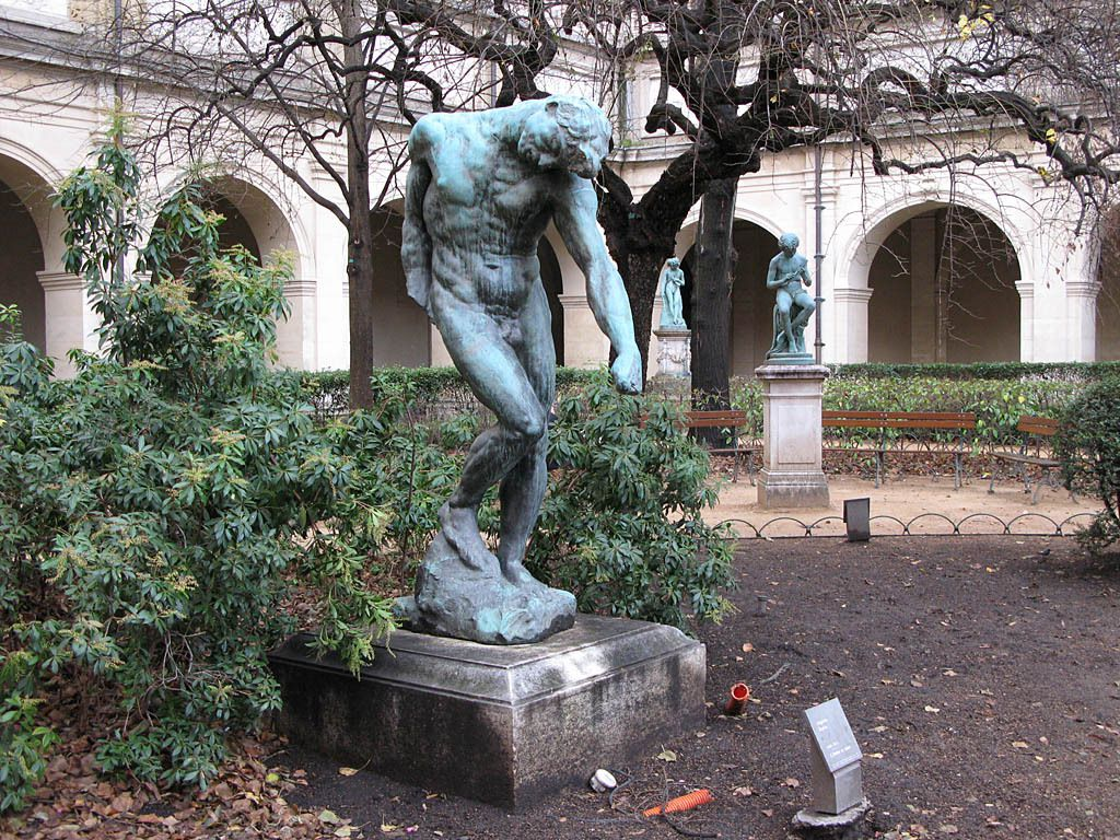 L'Ombre ou Adam (1902) par Auguste Rodin, 1840-1917,  Musée des Beaux-Arts de Lyon, France
